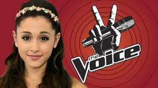 "Ariana Grande to Judge ""The Voice"" Kids Spin-Off?"