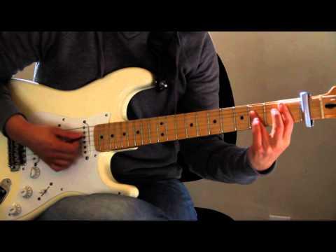 Easy by Faith No More guitar lesson - (Easy Version w/ Capo and solo) - Jen Trani
