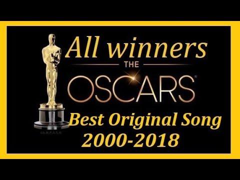 All Oscar Winners 2000 2018 Best Original Song Academy Awards
