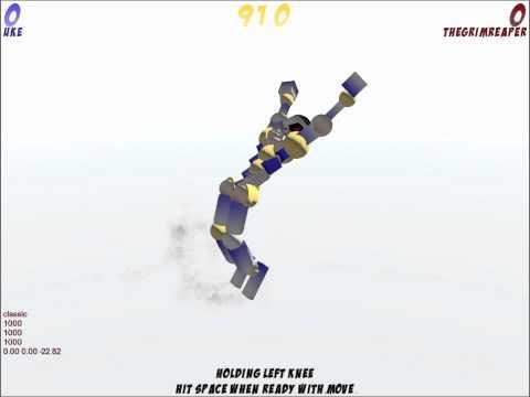 Toribash ~ Backflip And Landing Tutorial