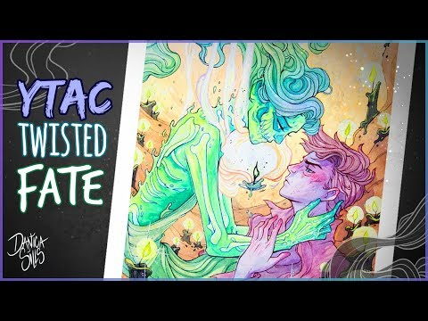 Twisted Fate • YTAC Grimm's Fairy Tale • Watercolor Painting Process