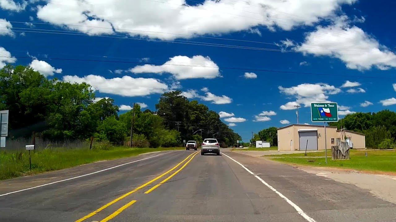 Road Trip #168 - US-80 W - Greenwood, Louisiana to Marshall, Texas
