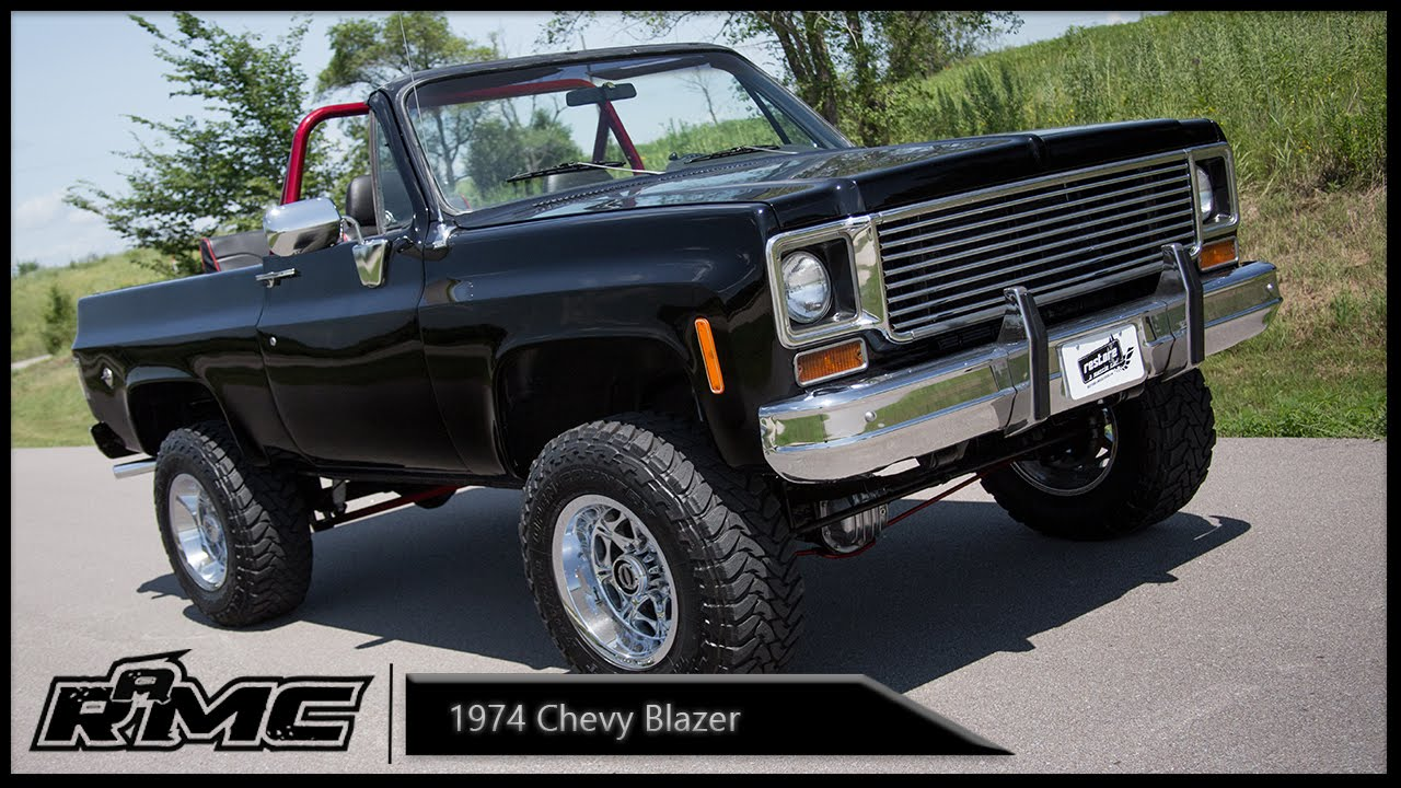 All Chevy 74 chevy : 1974 Chevy Blazer - YouTube