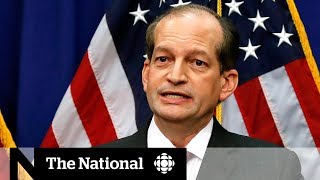 Alex Acosta defends his role in Jeffrey Epstein deal