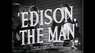 Edison, the Man - (Original Trailer)