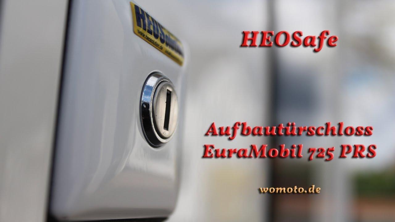 HEOSafe Zusatzschloss EuraMobil - YouTube