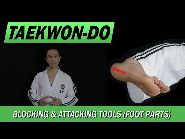 Taekwon-Do: Blocking & Attacking Tools (Foot Parts)