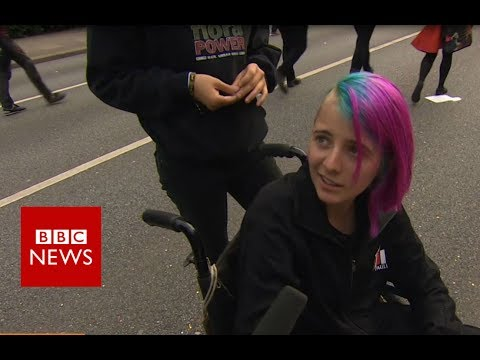 BBC speaks to protesters ahead of G20 summit - BBC News