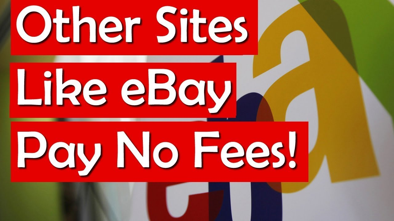 Auction Sites Like Ebay Other Online Bidding Sites With Less Fees Youtube