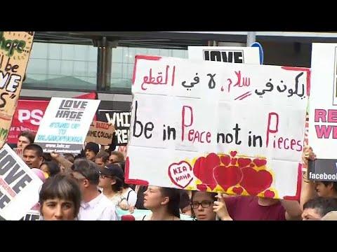 شاهد: مسيرات ضد العنصرية بنيوزيلندا تكريما لضحايا كرايستشيرش…  - نشر قبل 5 ساعة