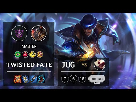 Twisted Fate Jungle vs Lee Sin - BR Master Patch 10.13