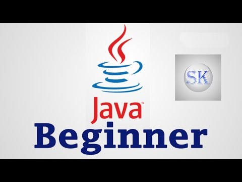 Java Tutorial For Beginners 1 - Creating First Java