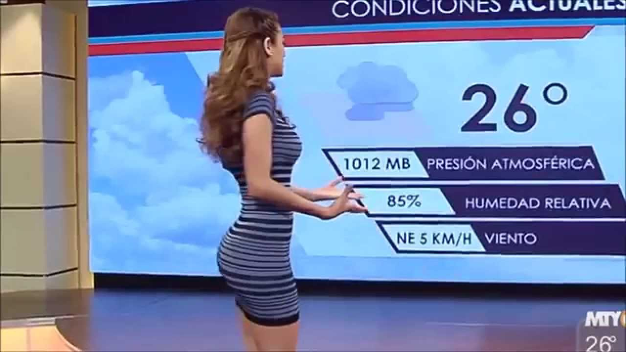 Sexy weather announcer - 1 part 6