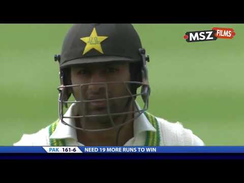 Pakistan vs Australia 2nd Test 2010 Thrilling Finish