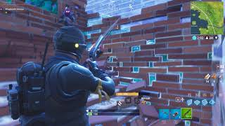 Teaching my sister how to play Fortnite