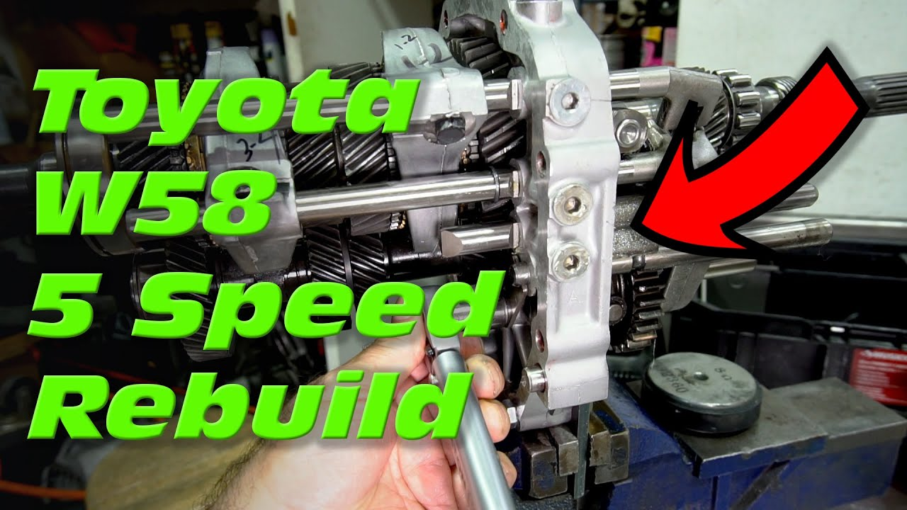 How to Rebuild a Toyota W58 5 Speed Transmission - Part 2