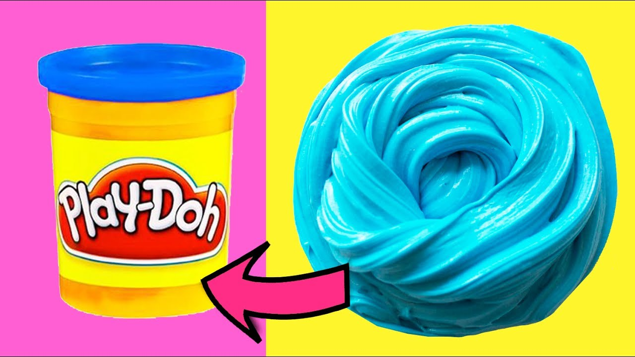 Real Super Soft Diy Playdoh Slime Without Glue How To Make