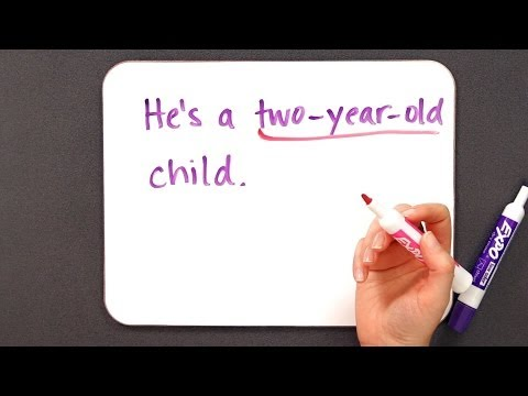 How to Use Hyphens | Grammar Lessons
