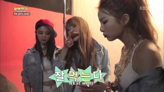 EXID Funny Clip #88- Ah Yeah Behind The Scene Highlights