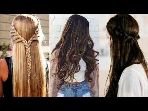 2018 Peinado Trenza De Primavera Fresco Y Juvenil Peinado Elegante