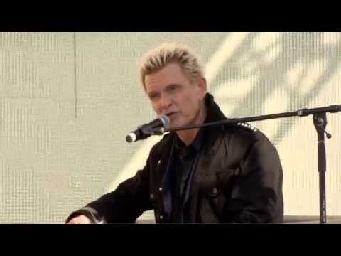 Musician Billy Idol takes the stage at 2015 LA Times Festival of Books
