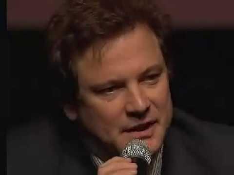 Colin Firth Speaking ItalianRome Film Festival, 2007