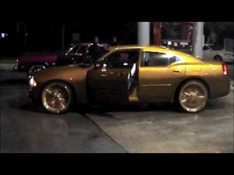 Candy Gold Charger On 24 Quot All Gold Dayton Wires Youtube