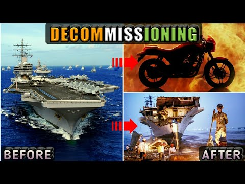 Why Navy Ships & Aircraft Carriers Are Decommissioned? What Happens After Decommissioning? (Hindi)