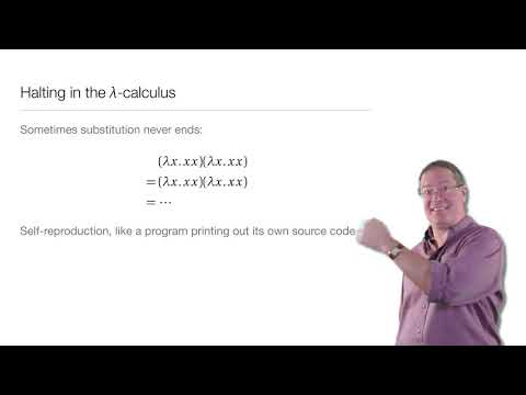 Computation in Complex Systems: Computation Everywhere - λ Calculus Part2 thumbnail