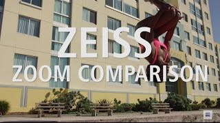 ZEISS Cine Zoom Lens Comparison Test at Santa Monica Beach