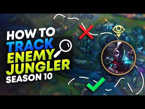 HOW TO TRACK THE ENEMY JUNGLER (TIPS) | League of Legends