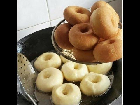 Самые вкусные и быстрые пончики, пышки на сгущенке, donnuts