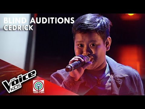 Ikaw Ang Pangarap by Cedrick Ebe  The Voice Kids Philippines Blind Auditions 2019