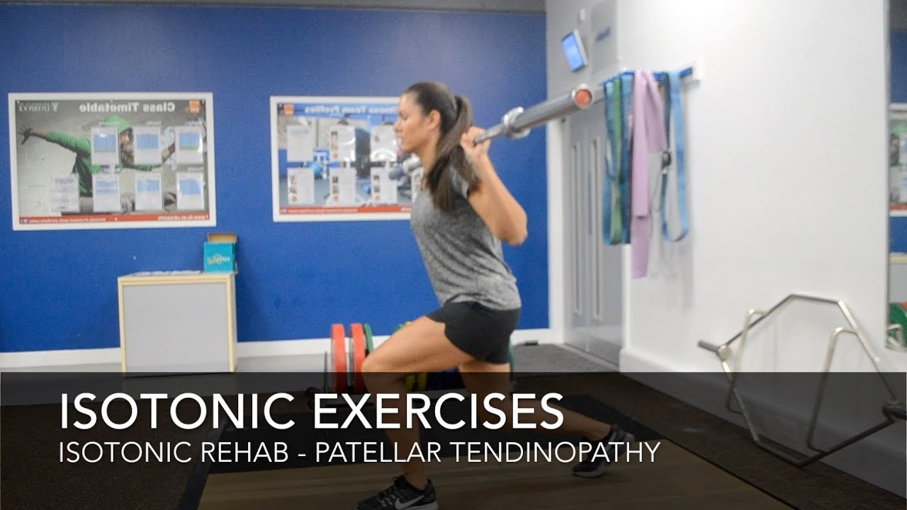 Patellar Tendinopathy Rehab - Isotonic Exercises