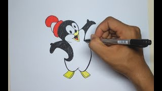 How to Draw Chilly Willy Step by Step