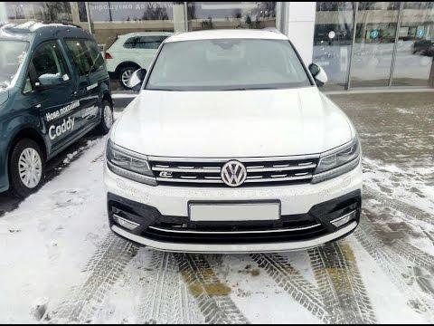 Тест драйв нового VW Tiguan R Line 2017 года