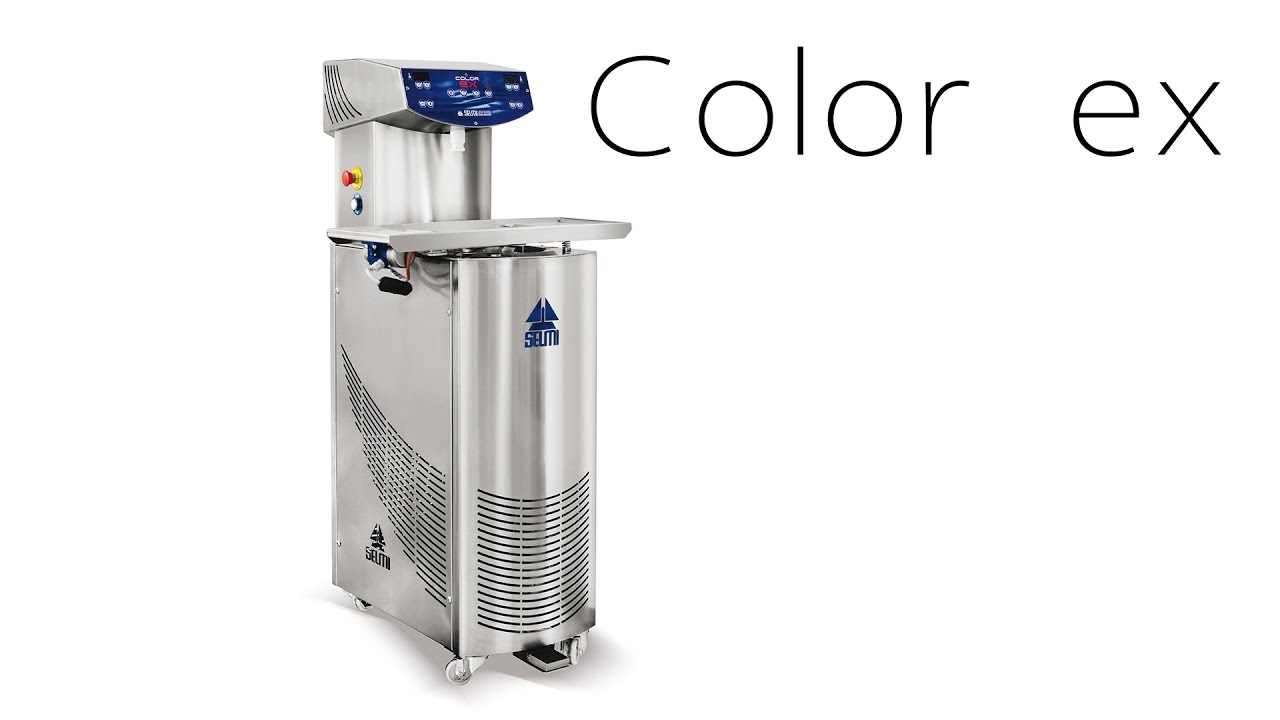 Continuous Chocolate Tempering Machine Color Ex