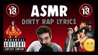 ASMR | Reading Dirty Rap Lyrics (18+)