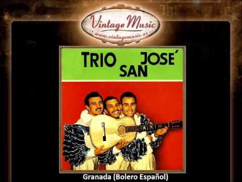 Trio San José -- Granada (Bolero Español) (VintageMusic.es)