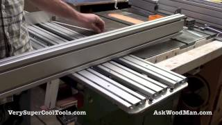 Diy Table Saw Sliding Crosscut Carrier