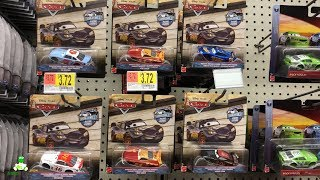 Disney Cars Toy Hunt THOMASVILLE RACING LEGENDS Diecast Reb Meeker Herb Curbler Ryan
