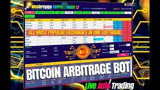 Заработок на автоматической кнопки|Межбиржевой арбитраж криптовалют: как заработать биткоин с торгов