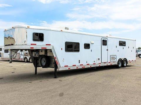 2012 EXISS LIVING QUARTERS CARGO TRAILER - Transwest Truck Trailer RV (Stock #: 5U160458)