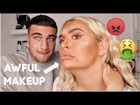 I DID MY MAKEUP BADLY TO SEE HOW MY BOYFRIEND WOULD REACT....