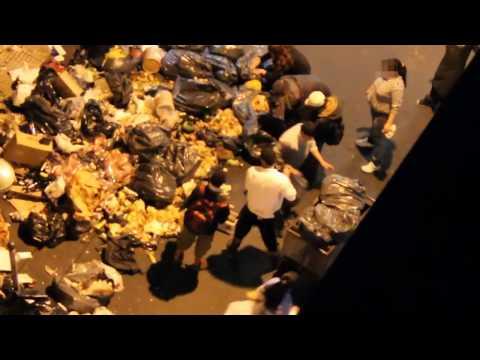 Dignidad Cero, Familias comen de la basura, todos los días, Argentina 2013