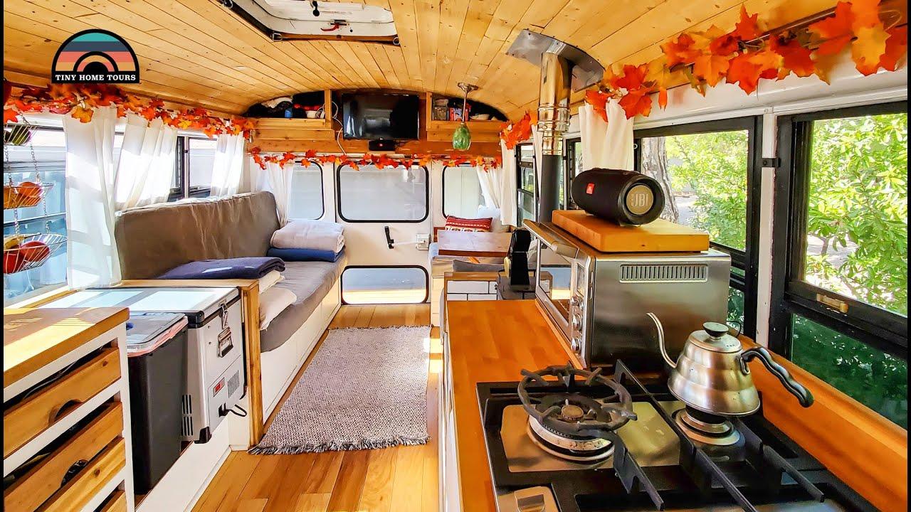 Carpenter's DIY Bus Conversion - Clever Build Ideas On A Budget