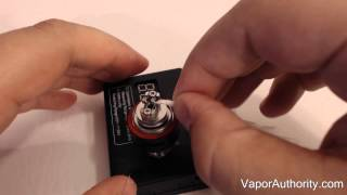 Kanger Subox Mini Kit - RBA Dual Coil Build Tutorial