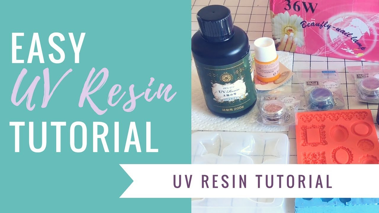 How to use UV Resin