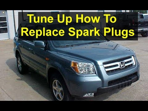 How To Do A Tune Up, Spark Plugs Replacement On A Honda Pilot   VOTD