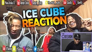 Ice Cube Reacts To New West Coast Rappers(Reaction Video)